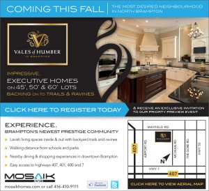 Vales of Humber  is a New Home Community in Brampton.