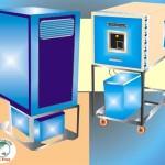 Dehumidifier and humidifier