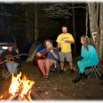 camping at Eaglewood camp ground