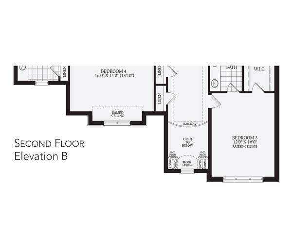 Crown Communities Floor Plans: The Montpellier